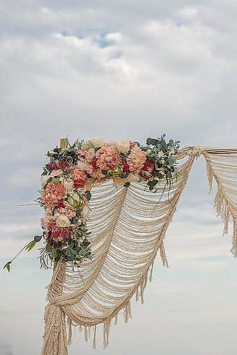 wedding themes woven decor