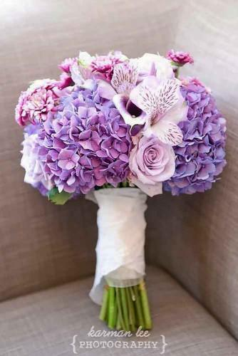 30 Purple Amp Blue Wedding Bouquets Wedding Forward