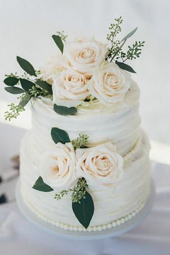 buttercream wedding cakes 19
