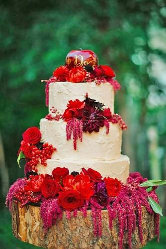 fall wedding cakes 1