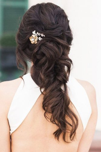 half up half down wedding hairstyles ideas half up modish caitlynmeyermua