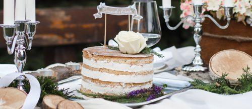 rustic wedding cakes photos featured