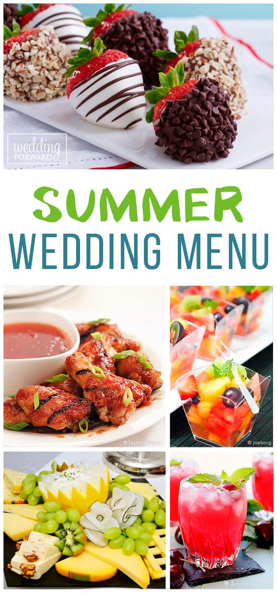 summer wedding menu foods serve skip ci 27072018