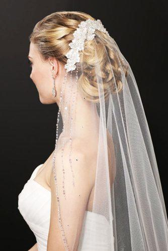 wedding hairstyles with veil 1