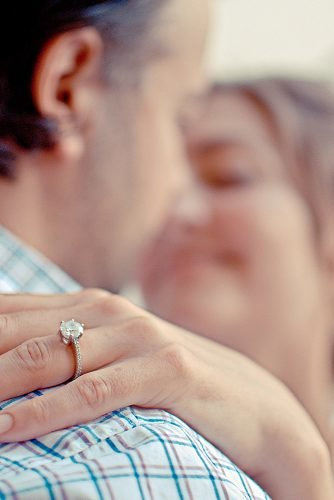 what changes when you get married couple engagement ring