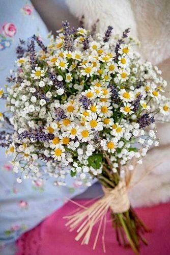wildflower wedding bouquets 2