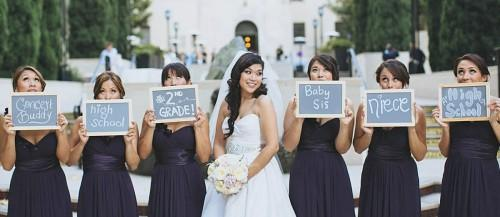 must take wedding photos with your bridesmaids