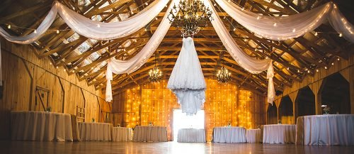 ranch wedding rustic barn wedding reception featured