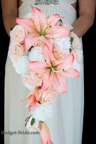wedding bouquet ideas lilies inspiration 5