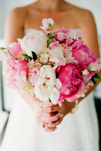 wedding bouquet ideas peonies inspiration 6