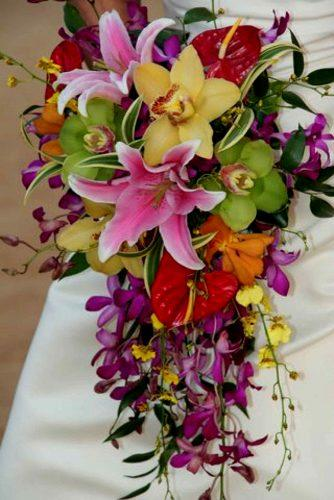 wedding bouquet ideas lilies inspiration 3
