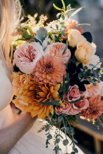 wedding bouquet ideas dahlias inspiration 4