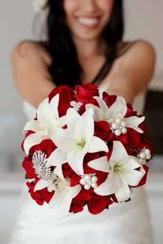 wedding bouquet ideas lilies inspiration 2