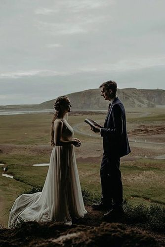 wedding vow examples beautiful ceremony at the nature