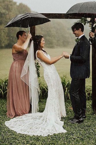 wedding vow examples rain ceremony exchange vows