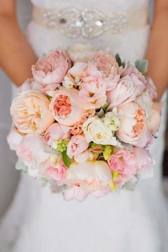 18 pink wedding bouquets to fall in love with 14