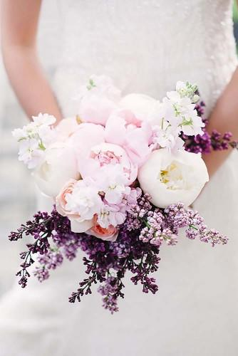 18 soft pink wedding bouquets to fall in love with 3