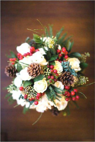winter nice wedding bouquets 1