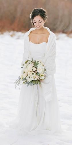 winter wedding dresses and gowns jennifer fujikawa photography