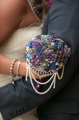 brooch bouquets with bling 23