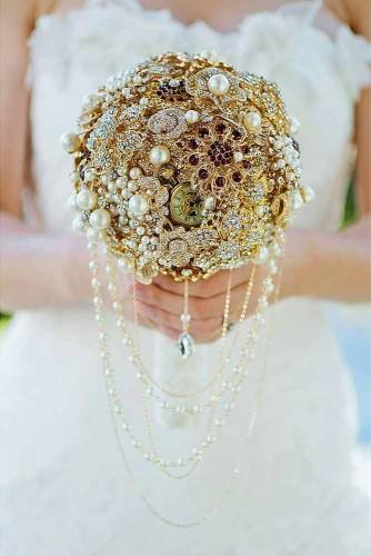 brooch bouquets with bling 12