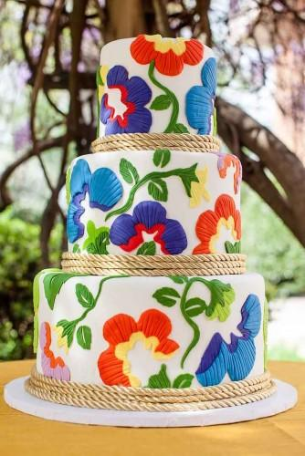 mexican wedding cake ideas 4
