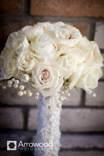 brooch wedding perls bouquets 6