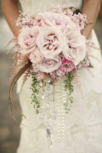 brooch wedding perls bouquets 1