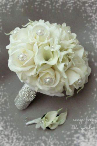 brooch wedding bouquets 1
