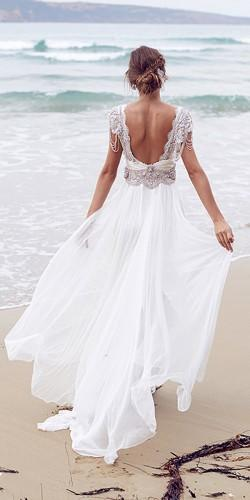 beach wedding gowns 3