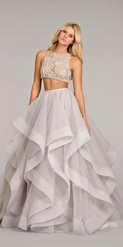 wedding dresses two pieces 13