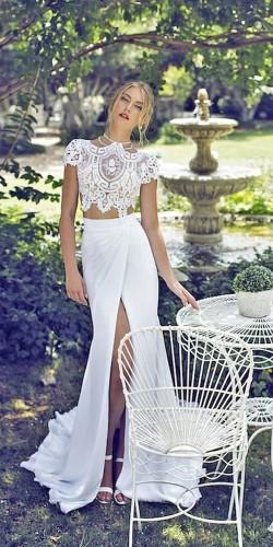 wedding dresses two pieces 15