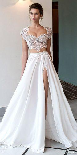beatiful two pieces wedding dresses 6