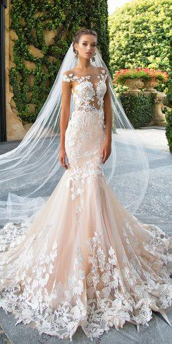 mermaid full lace milla nova wedding dresses 2017
