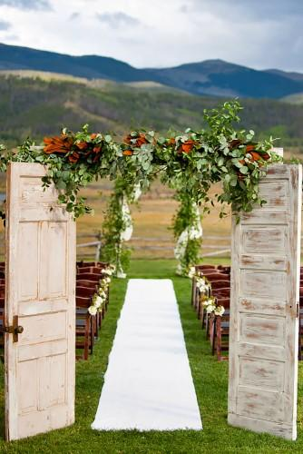 old door wedding decoration ideas brinton studios