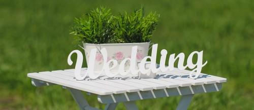 rustic wedding signs featured