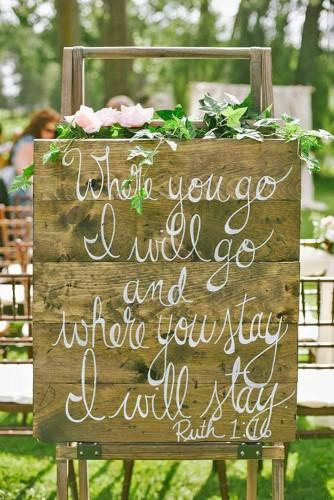 rustic wedding signs 2