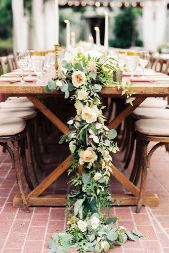 trendy wedding decor greenery ideas 2