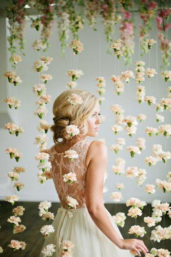 wedding decor trends hanging flowers lindsey orton photography