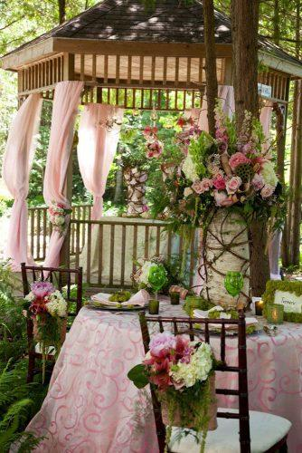 wedding decor trends romantic garden wedding decorated with flowers pocket ful of dreams