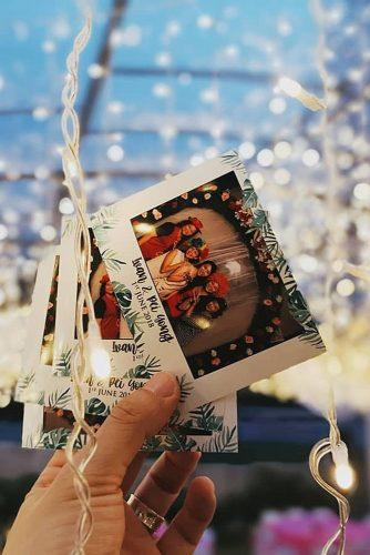 wedding guest book ideas photo message