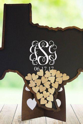 wedding guest book ideas unique design