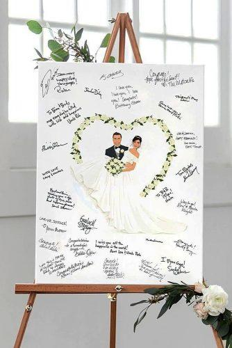 wedding guest book ideas wishes