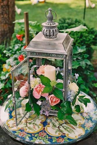 lantern wedding centerpiece 16