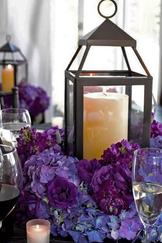 lantern wedding centerpiece 12