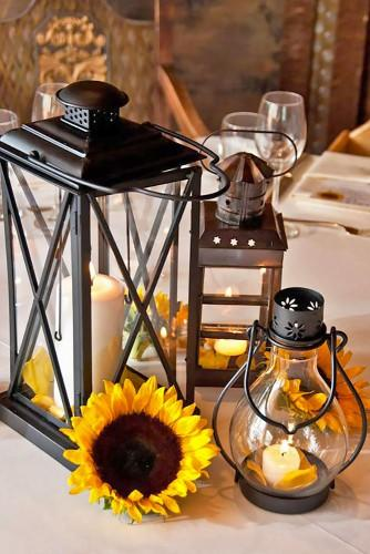lantern wedding centerpiece 10