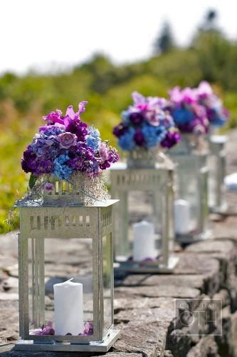 lantern wedding centerpiece 25