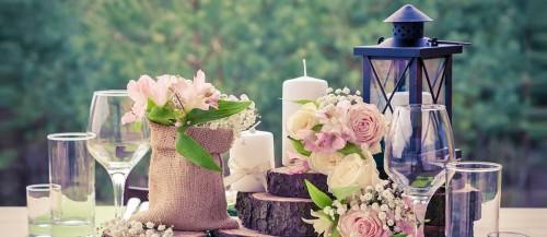 lantern wedding centerpiece featured