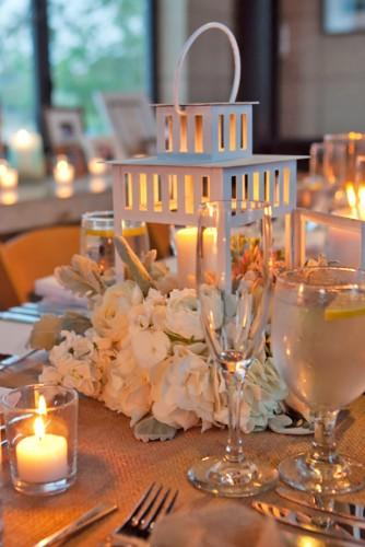 lantern wedding centerpiece 9