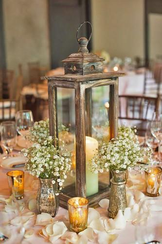 lantern wedding centerpiece 6